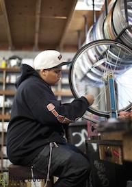 workforce development bike mechanic