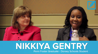 Nikkiya Gentry Penn Foster Graduate ACICS