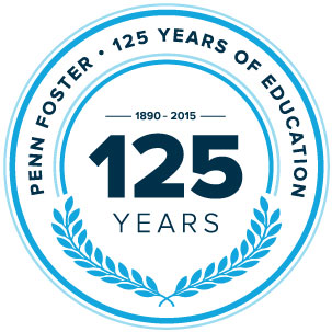 Penn Foster 125 Year Anniversary Seal