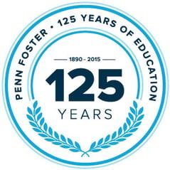 Penn Foster 125th Anniversary Seal
