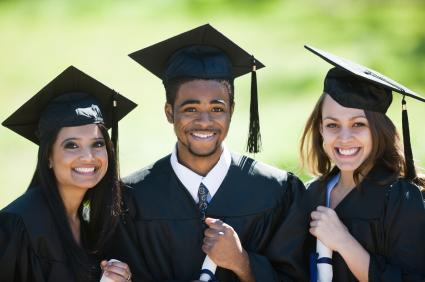 Three recent graduates