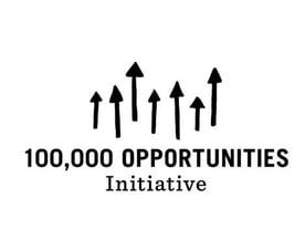 100,000 Opportunities Initiative Logo