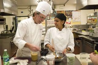 CTE Culinary Student