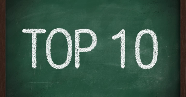 Top 10 Chalkboard Image