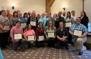 Graduates of Geisinger's training initiative.