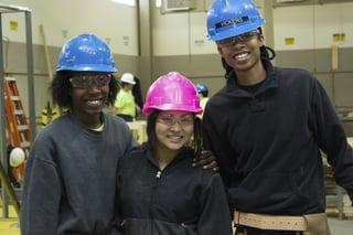 Shriver Job Corps students