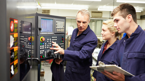 Engineering Training in Factory