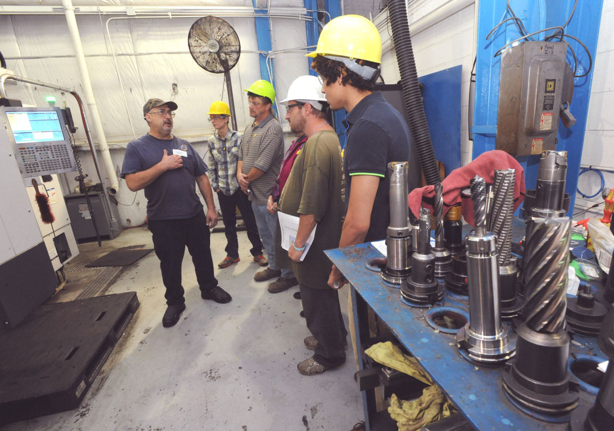 Apprentices at JWF Industries