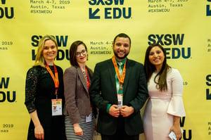 Panel speakers at SXSW 2019