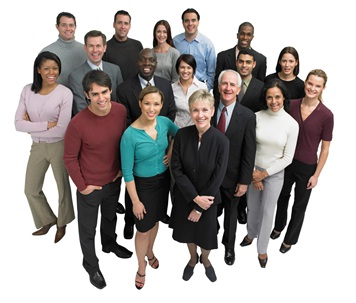Employees in a group