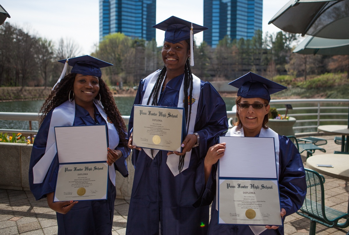 Reaching Success Churchs Chicken Celebrates First 3 Graduates From
